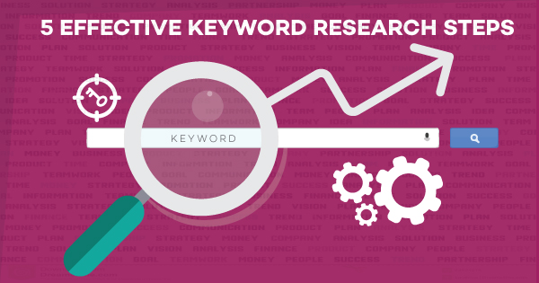 BLOG: 5 Effective Keyword Research Steps – SEO Marketing